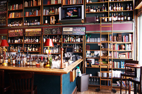 The Bookstore Bar at The Alexis Hotel