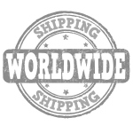 worlwide shipping red